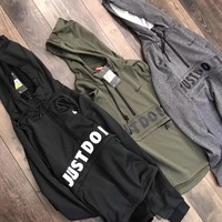 nike fashion hooded top sweater pullover sweatshirt