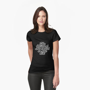 'She believed she could so see did - Inspirational Quote' T-Shirt by raninashah