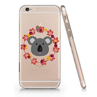 Cute Koala Pattern Pattern Slim Iphone 6PLUS Case, Clear Iphone Hard Cover Case For Apple Iphone 6PLUS Emerishop (iphone 6 PLUS)