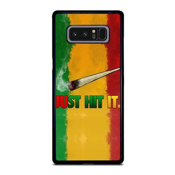 JUST HIT IT Samsung Galaxy Note 8 Case Cover