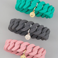 Marc By Marc Jacobs Rubber Bracelet