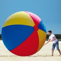 Ten Feet Giant Inflatable Beach Ball - 10' Tall!
