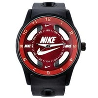 Nike Trending Women Men Watch Movement Couple Watch Black Red I-SBHY-WSL