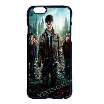 Harry Potter Plastic Cover Case for LG iPhone 4 4S 5 5S 5C 6 6S 7 Plus iPod 5 Samsung Note 2 3 4 5 S3 S4 S5 Mini S6 S7 Edge Plus