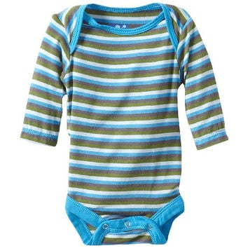 Kickee Pants Striped Newborn One-Piece