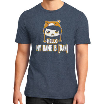 HELLO MY NAME IS DAN District T-Shirt (on man)