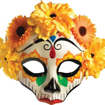 Day Of Dead Female Mask Halloween accessories 2017