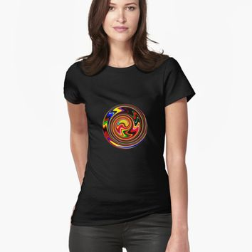 'Happy Spiral Of Colors' T-Shirt by SpieklyArt