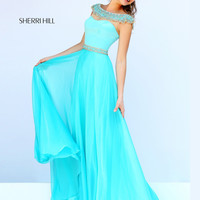 Satin Sweetheart Sherri Hill Prom Gown 32220
