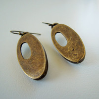 Hoop earrings, Bronze Earrings , FREE SHIPPING,  Mother's Day Jewelry , Earrings