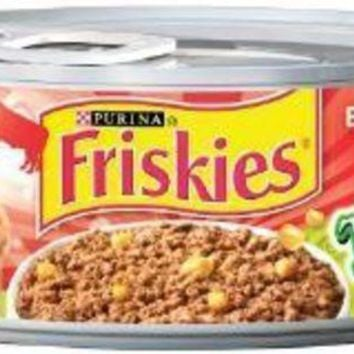 DCCKU7Q Friskies Tasty Treasures Pate Beef-Liver-Cheese 24-5.5oz