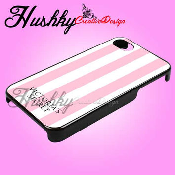 Victoria Secret Pink Design - iPhone 4/4s/5 Case - Samsung Galaxy S2/S3/S4 Case - Black or White