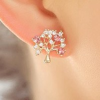 Sparkly Wishing Tree Fashion Earrings | LilyFair Jewelry