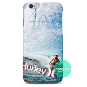 Hurley Surfing Clothing Gear iPhone Case 3, 4, 5, 6 Cover