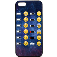 Emoji Face Space Funky Smiley Phone Cases Cover for iPhone 4 4S 5 5S 5C 6 Plus 6S Touch 5 Case