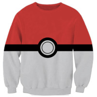 Pokemon Pokeball Crewneck