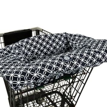 Balboa Baby® Shopping Cart and High Chair Cover in Navy/White