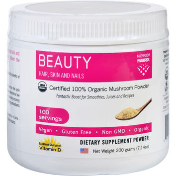 Mushroom Matrix Beauty Matrix - Organic - Powder - 7.14 Oz