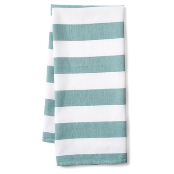 Deck Kitchen Towel, Teal, Tea towels & Dishtowels