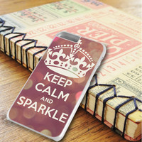 Keep Calm And Sparkle iPhone 6 Plus   iPhone 6S Plus Case