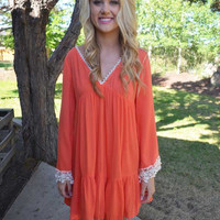 Shake It Off Dress - Coral