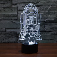 3D Starwars Illusion New Arrival Colorful Multi-color Lamp = 5826245121