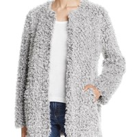 AQUATeddy Bear Faux Fur Coat