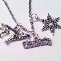 Winter is Coming Necklace - Fandom Jewelry