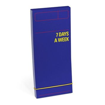 7 Days a Week Planner Pad in Blue