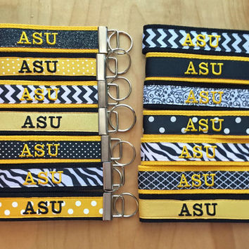 Key Fob: ASU; Appalachian State University; Mountaineers; Boone; North Carolina