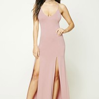 M-Slit Maxi Cami Dress