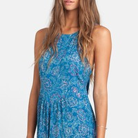 Junior Women's Billabong 'Romp Around' Print Romper,