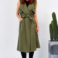 Cupshe Piece Me With You Sleeveless Coat