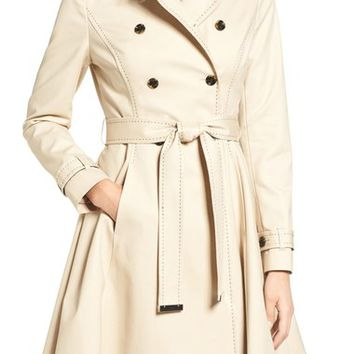 Ted Baker London Pick Stitch Trench Coat | Nordstrom