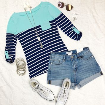 City Stripes Top