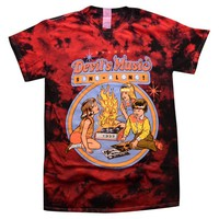 Devil's Music Tie Dye Shirt