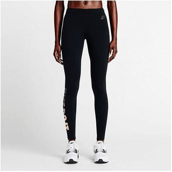 DCCKL72 Nike Pro Exercise Fitness Gym Running Training Leggings
