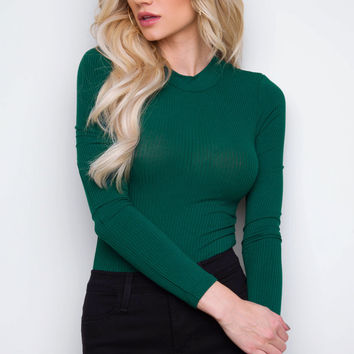Stelle Bodysuit - Emerald Green