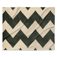"Catherine McDonald ""Vintage Vinyl"" Fleece Throw Blanket"