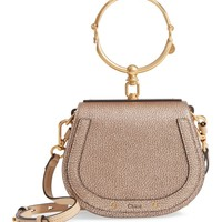 Chloé Small Nile Bracelet Metallic Leather Crossbody Bag | Nordstrom