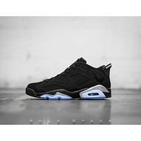 Jordan 6 Low Black Chrome