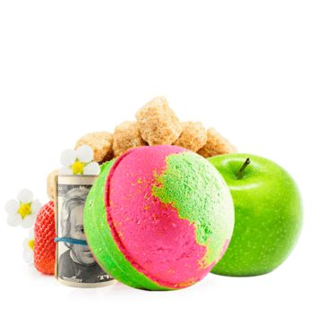 Strawberry Fields | Single Cash Bath Bomb®