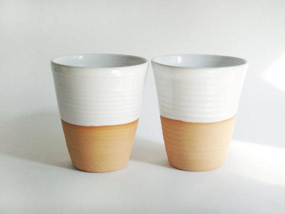 Made To Order Four Mugs Without From Juliapaulpottery On