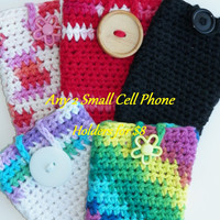 Free Shipping in U.S.A - Special Offer - Small Cell Phone Case - Cell Phone Holder - Cell Phone Cozy - Apple - Samsung - Android - Sony