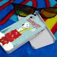 snoopy character on iphone4/4s/5/5s/5c/6/6+ case,ipod 5th case,and samsung galaxy s3/s4/s5 case