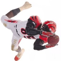 McFarlane Toys NFL Sports Picks Series 9 Action Figure Chad Johnson (Cincinnati Bengals) White Jers
