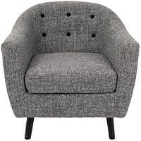 Rockwell Chair Dark Grey