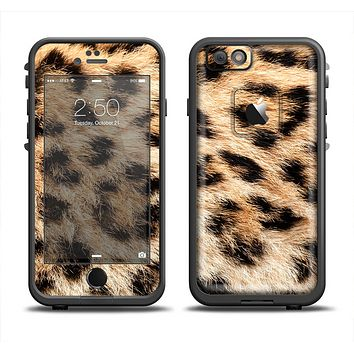 The Real Cheetah Animal Print Apple iPhone 6 LifeProof Fre Case Skin Set