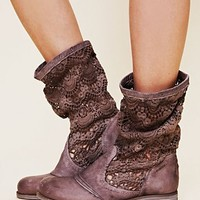 Free People Crochet Bunker Boot