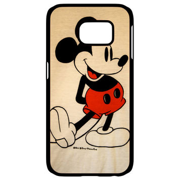 Mickey Mouse Vintage Samsung Galaxy S6 Edge Case